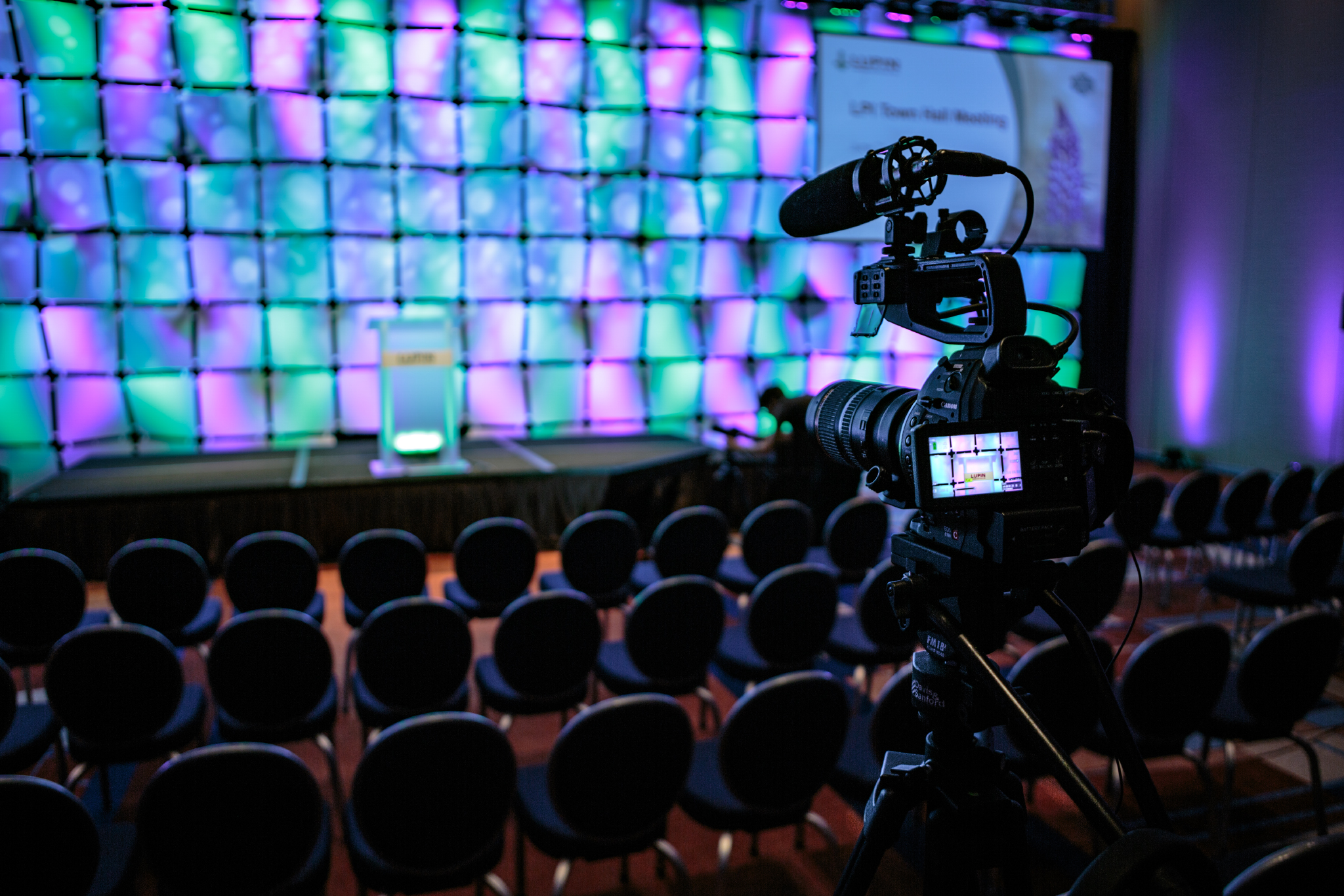 corporate event video coverage